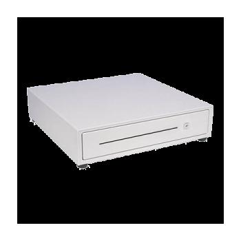 Cajón portamonedas blanco