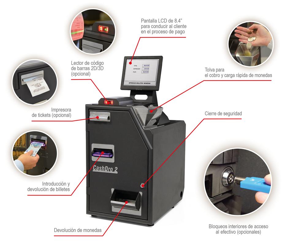 CashDro2-ES-Especificaciones