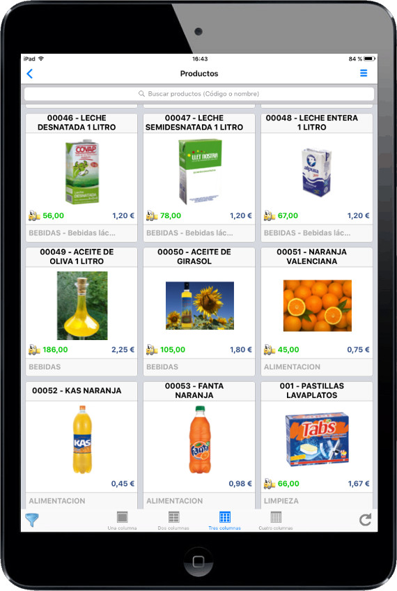 app productos catalogo